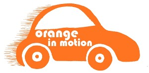 Orange In Motion